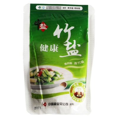 China Salt Bamboo Salt (Healthy) 250g