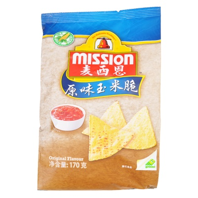 Mission Original Corn Chips 170g