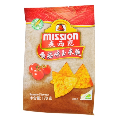 Mission Tomato Flavour Tortilla Chips 170g