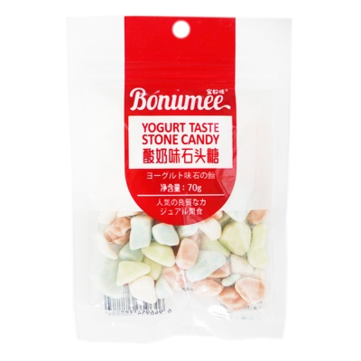 Bonumee Yogurt Taste Stone Candy 70g