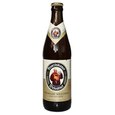Franziskaner Weissbier Naturtrub Beer 450ml