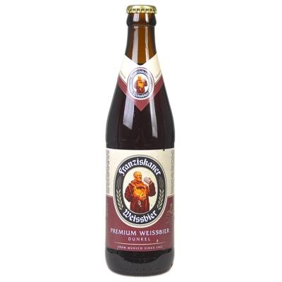 Franziskaner Premium Weissbier Dunkel Beer 450ml