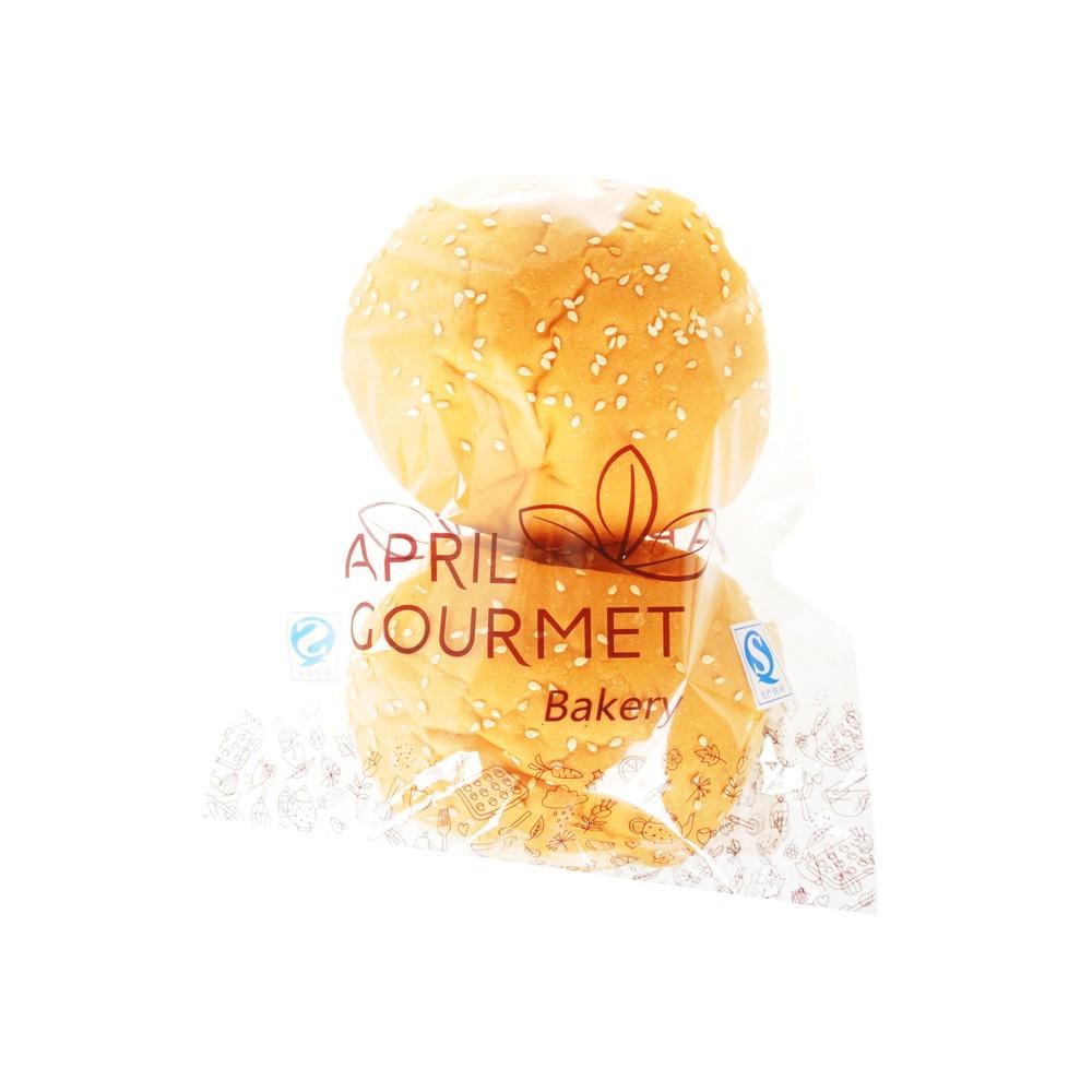 April Gourmet Hamburger Breads 80g
