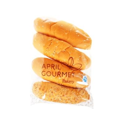 April Gourmet Hot Dog Bread 90g