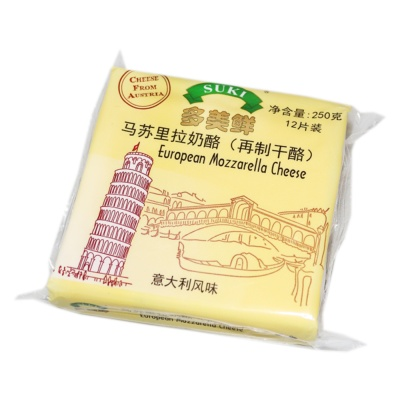 Suki Processed Cheese-Sliced Mozzeralla 250g