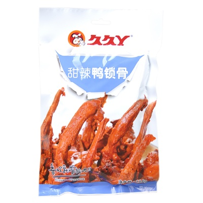 Jiujiuya Sweet & Spicy Duck Clavicle 118g