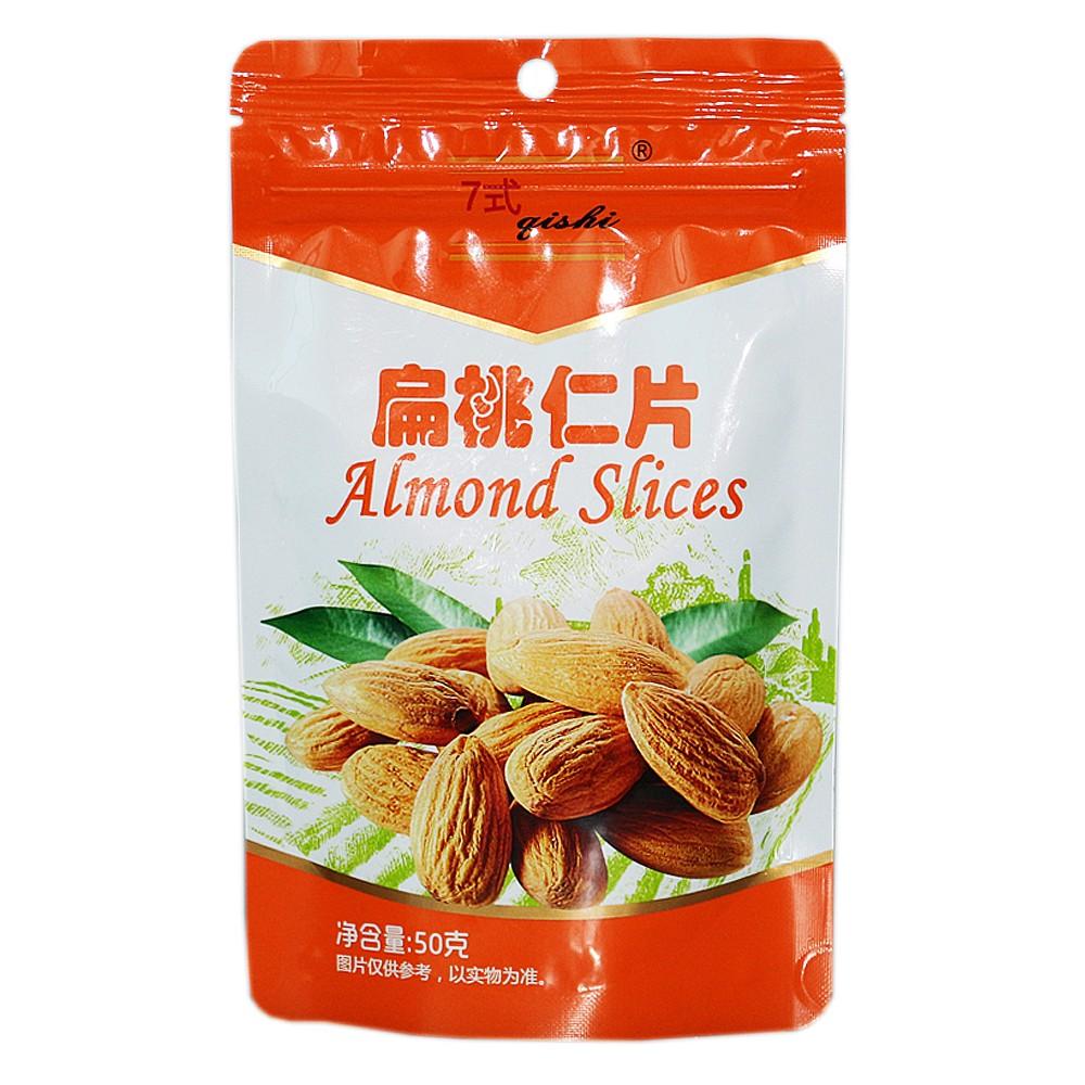 七式扁桃仁片(进口原料) 50g