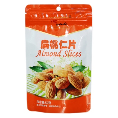 Qishi Almond Slices 50g