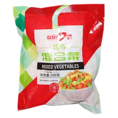 7式速冻混合蔬菜 200g