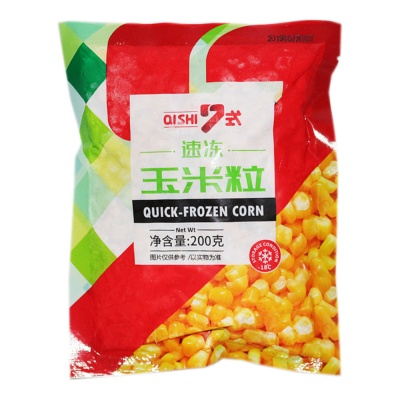 Qishi Quick-Frozen Corn 200g