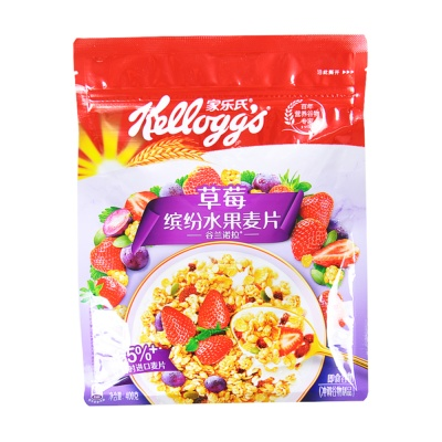 Kellogg's Granola Strawberry Mixed Fruit Cereal400g