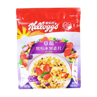 家乐氏谷兰诺拉草莓什锦水果谷物 400g