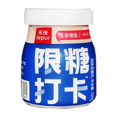 乐纯希腊式风味发酵乳-限糖打卡(单杯) 120g