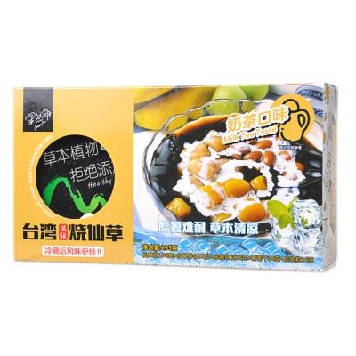 GreenMo Milk Tea Taste Grass Jelly 295g