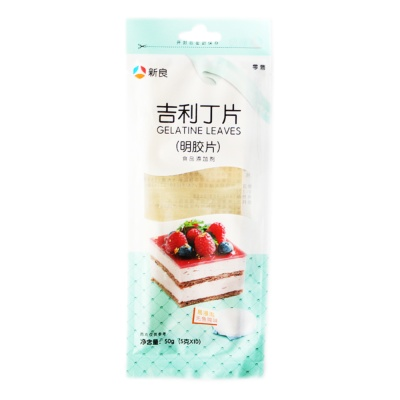 Xinliang Gelatine Leaves 50g