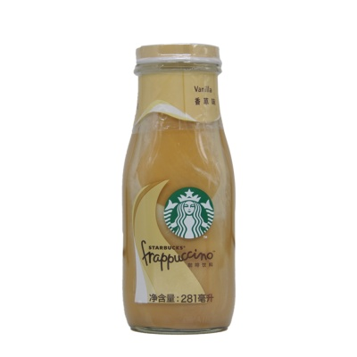 Starbucks Frappuccino Vanilla Coffee Drink 281ml