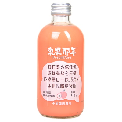 Dream Days Peach Juice Drink 310ml