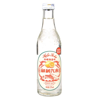 Hankow Er Chang Lemon Sea Salt Soda 275ml