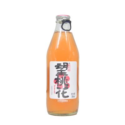 望桃花白桃复合碳酸饮料 300ml