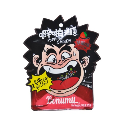 Bonumii Strawberry Flavor Poping Candy 15g