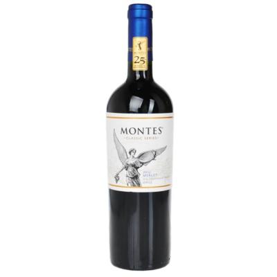 蒙特斯经典梅洛干红葡萄酒 750ml