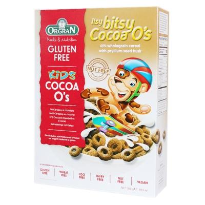 ORGRAN可可味谷物圈(膨化食品) 300g