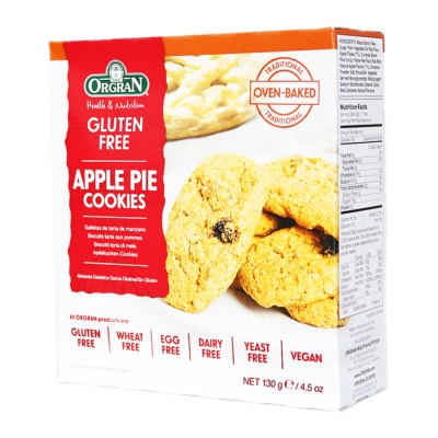 Orgran Apple Pie Biscuits 130g