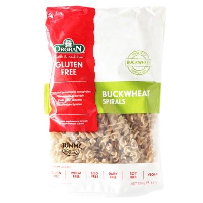 Orgran Buckwheat Spiral Pasta 250g