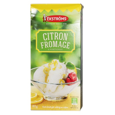 Akers Lemon Mousse Ice Cream Premix Powder 80g