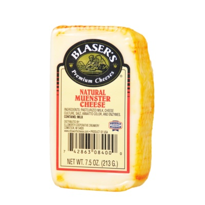 Blaser's Natural Muenster Cheese 213g
