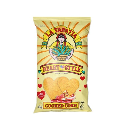 La Tapatia Heart Style Tortilla Chip 70g
