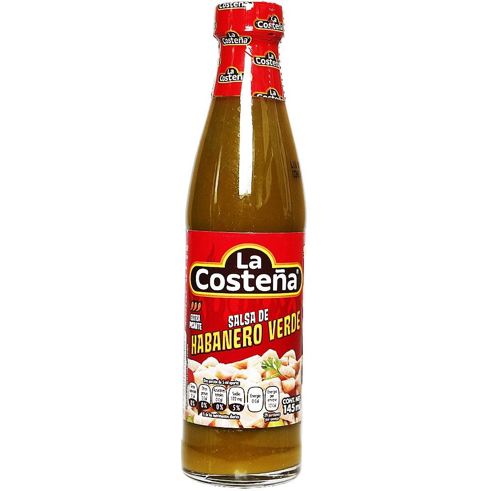 La Costena Green Habanero Sauce 145ml