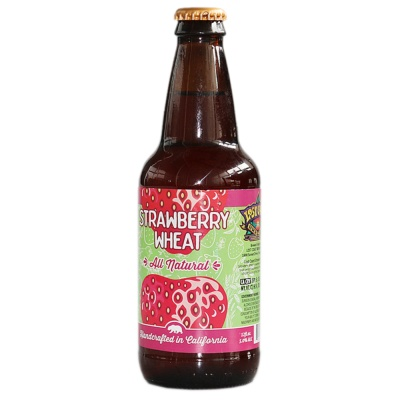Lost Coast Strawberry Wheat Beer 355ml