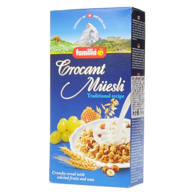 Familia Traditional Recipe Crocant Muesli 340g