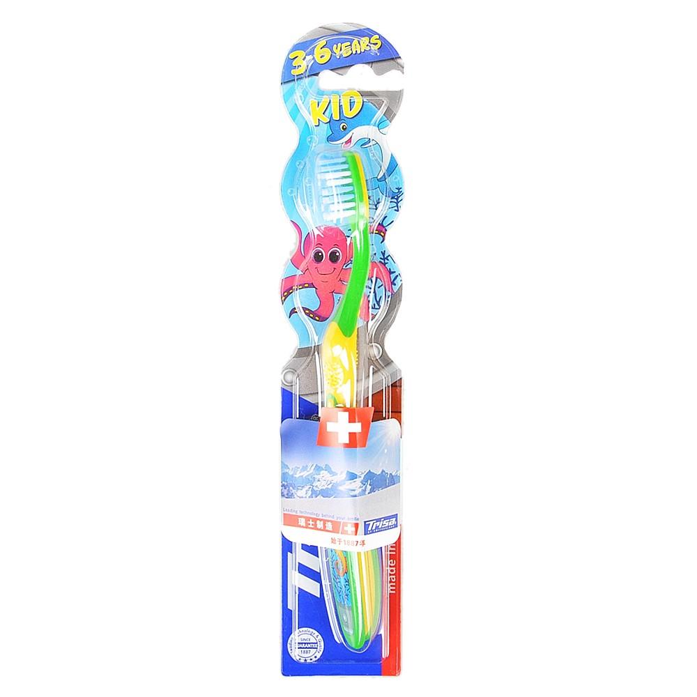 Trisa Kid Soft-bristle Toothbrush(3-6 years)
