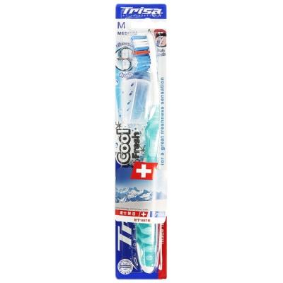 Trisa Cool & Fresh Medium Toothbrush 1p