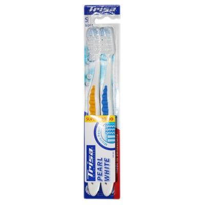Trisa Shiny White Toothbrush (fur)