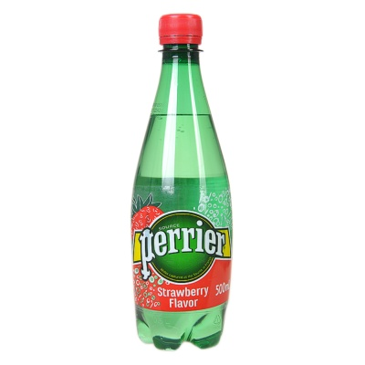 Perrier Strawberry Flavour Water 500ml