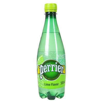 Perrier Sparkling Water(Lime)500ml