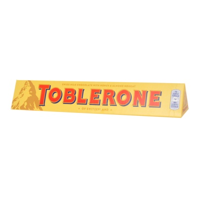 Toblerone Honey & Almond Nougat Milk Chocolate 100g
