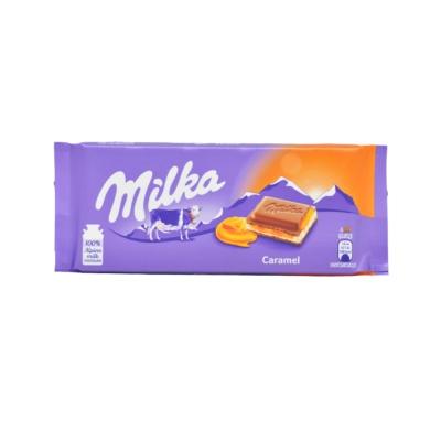 Milka Caramel Chocolate 100g
