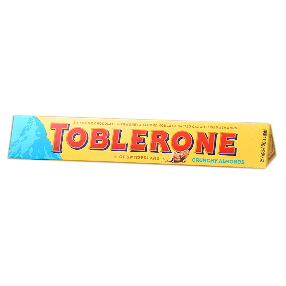 Toblerone Chocolate Almond And Honeycomb 100g