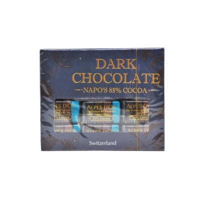 Napo's 85% Cocoa Dark Chocolate 50g