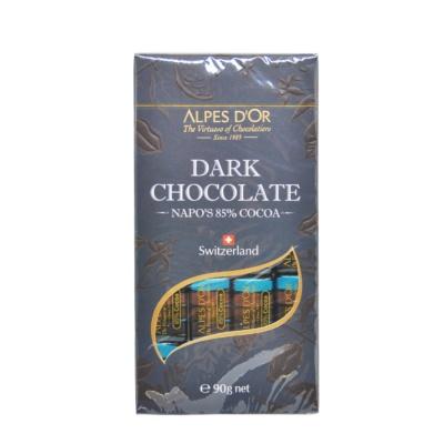 爱普诗百分之八十五可可黑巧克力 90g