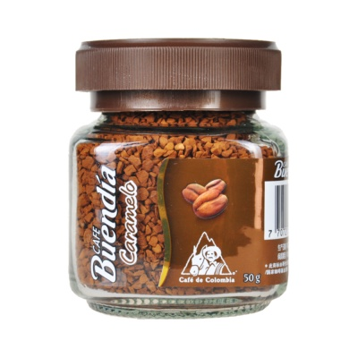 博恩哥伦比亚冻干速溶咖啡(焦糖风味) 50g