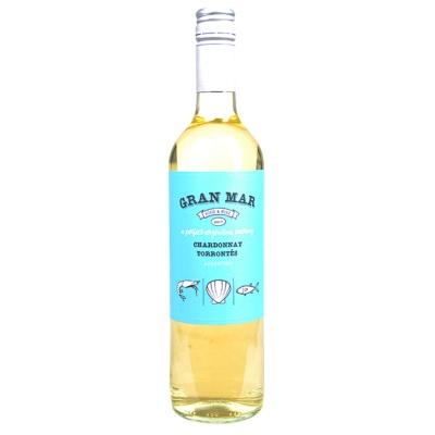Gran Mar Chardonnay Torrontes White Wine 750ml