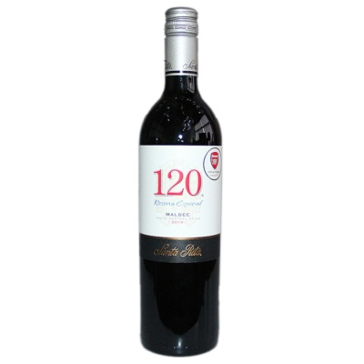 Santa Rita Reserva Especial 120 Malbec Red Wine 750ml