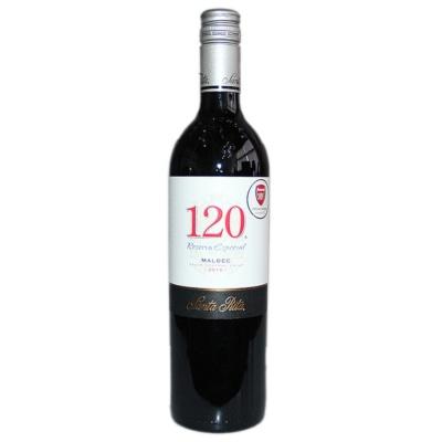 圣丽塔120系列马尔贝克干红葡萄酒 750ml
