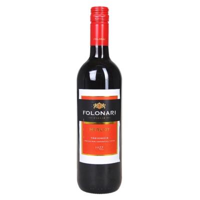Folonari Merlot Dry Red Wine 750ml