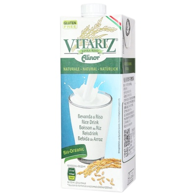 Vitariz Organic Rice Drink Natural 1L